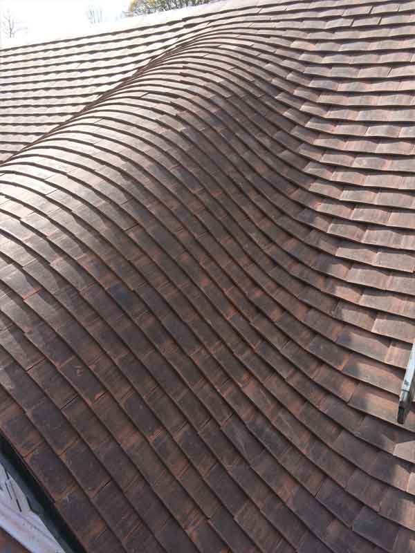 Tiled Roof in Worthing
